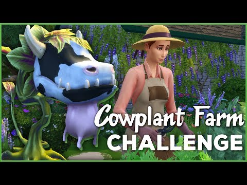 A Proper Pinch of Cottage Garden Life 🐄🌱 Sims 4 Cowplant Farm: Episode #14