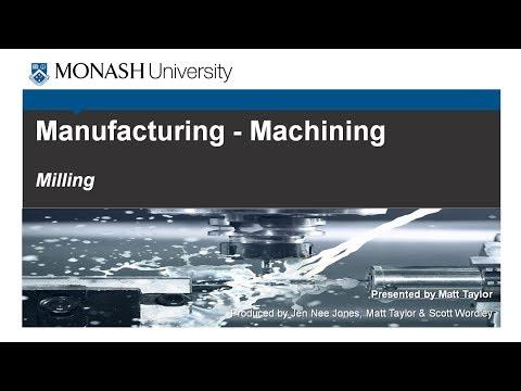 Machining 3: Milling
