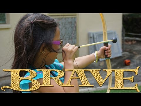 Kyndra's Brave Bow and Arrow
