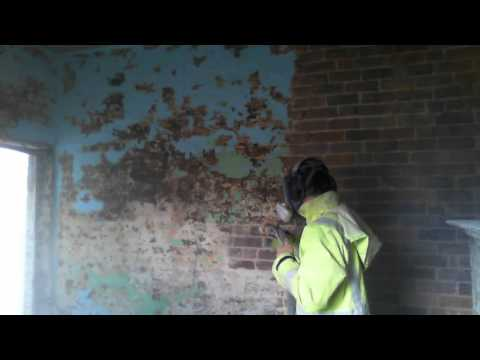 How to easily remove paint from brickwork with Soda Blasting