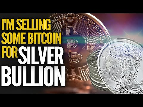 I'm Selling Some Bitcoin For Silver Bullion - Mike Maloney