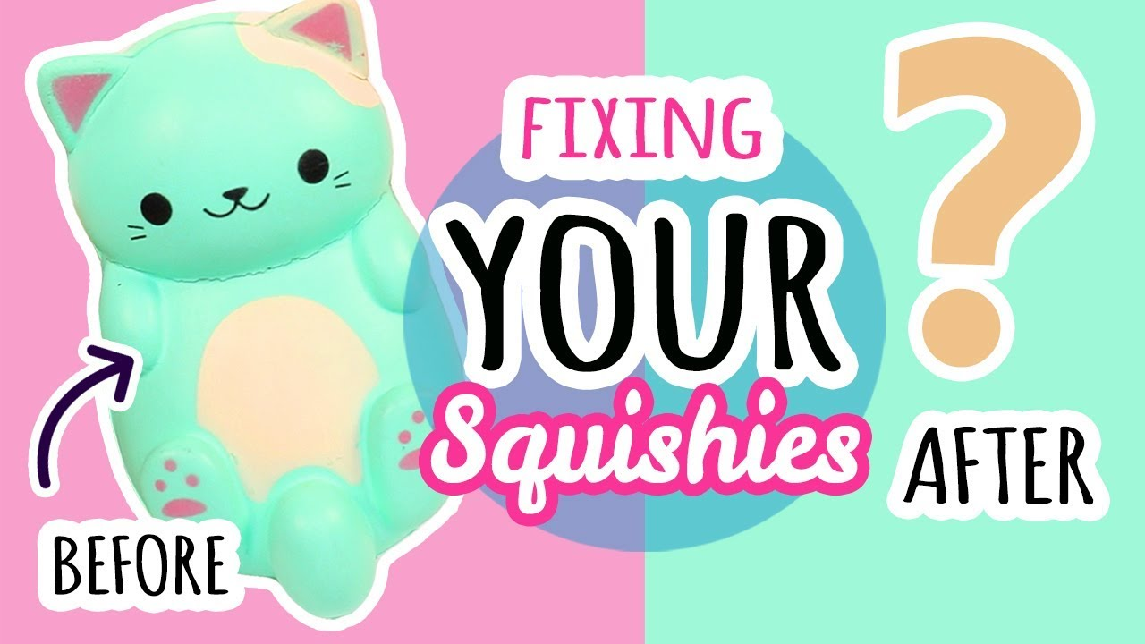Squishy Makeover: Fixing Your Squishies #14