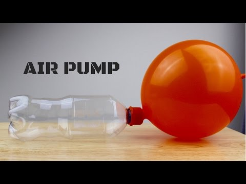 How to Make Air Pump - Hand Powered