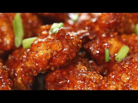 Honey BBQ Popcorn Chicken