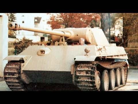 The Heikendorf Panther - The German Tank Found in a Basement