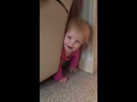 Baby Blue Eyes plays Peek A Boo