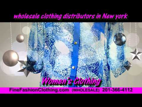 New York Clothing Wholesalers  and Cheap Wholesale Clothing Distributors of New York Women Apparel