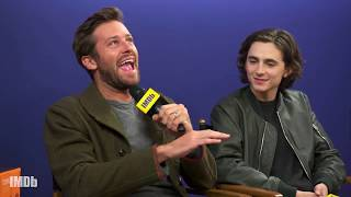 Armie Hammer Talks Short Shorts and Dancing in
