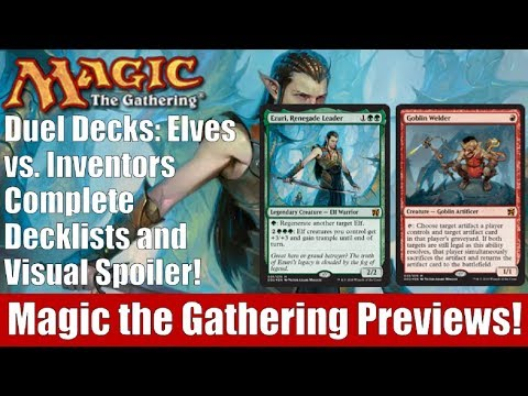 MTG Duel Decks: Elves vs. Inventors Decklists and Visual Spoiler