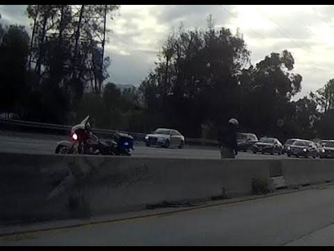 CHP Traffic Break in Los Angeles