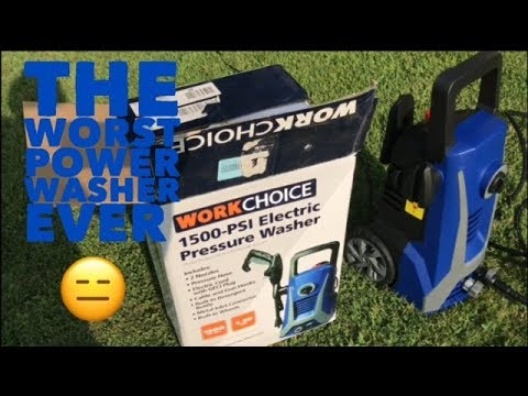 The Worst Pressure Washer EVER!