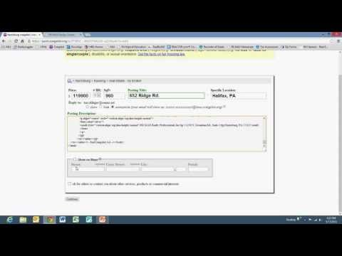 Design Center - How to Create a Craigslist Ad - Part 2