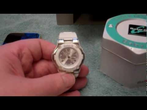 Casio Baby-G auto-time change