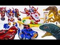 Tayo Amusement Park Is Under Attack Go Tobot V Master V ToyMartTV