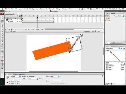 Animate a Signature in Adobe Flash using a Layer Mask