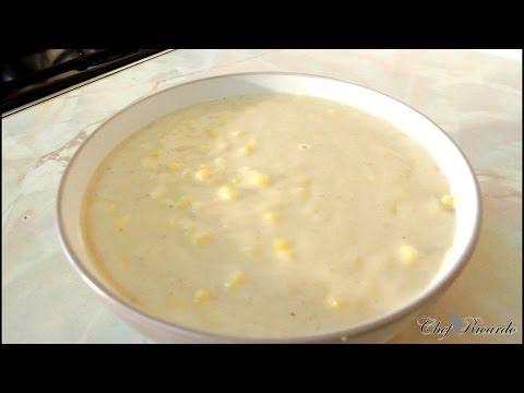 Jamaican Hominy Corn Porridge Recipe
