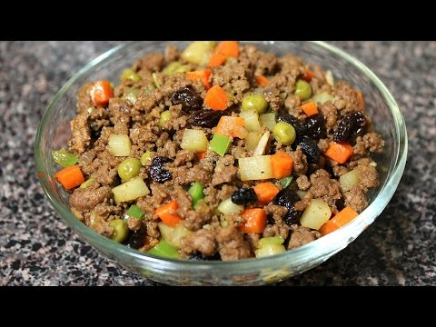 Beef Giniling Recipe