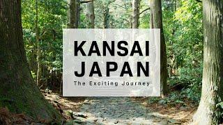 KANSAI JAPAN in 8K HDR Hyperlapse - 関西