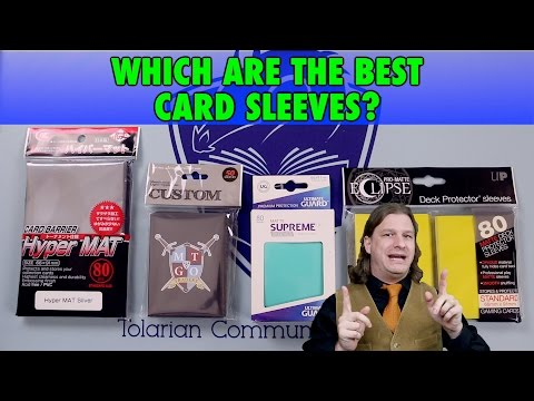 A Guide To The Best Card Sleeves: KMC Hyper Mat, Ultimate Guard, Legion, and Ultra Pro Eclipse