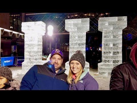 Super Bowl LII ,52 Live On Nicollet Mall In Minneapolis Minnesota