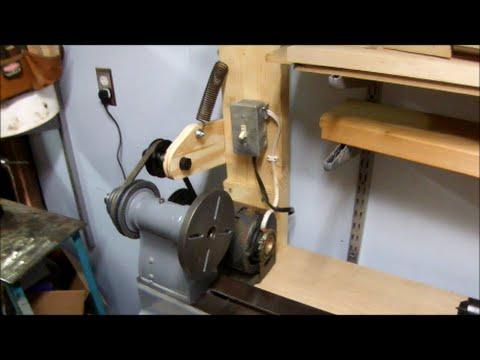Designing a Belt Tensioner to Setup a Lathe