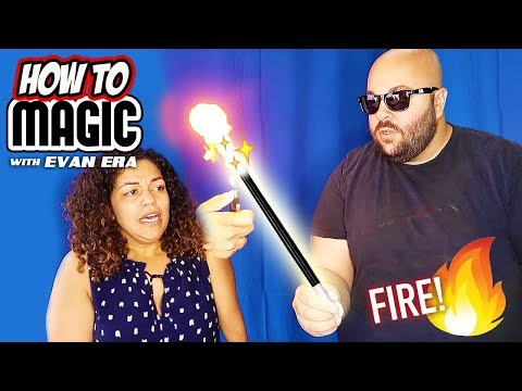 7 FIRE Magic Tricks with Flash Paper! 🔥