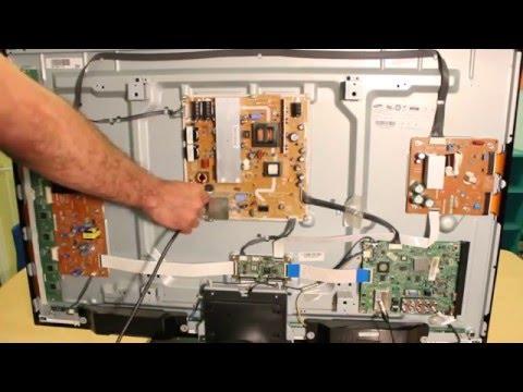 How to Repair Samsung Plasma TV PN43D490 PN51D490 PN51D450 PN51D550