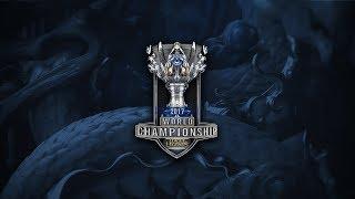 SK Telecom T1 ( SKT ) vs Misfits Gaming ( MSF ) - Worlds 2017 Çeyrek Final