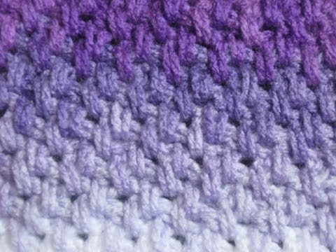 Crochet Stitches - Meladora's Thick Mesh / Brick Stitch Tutorial