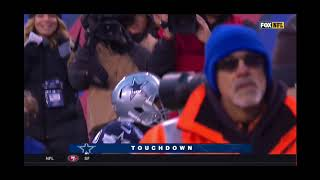 Rod Smith 16 Yard Run Touchown 2nd Touchdown Triple Smiths Dallas Cowboys Vs New Your Giants
