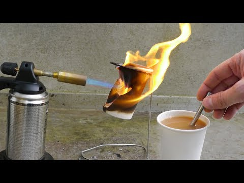 Can You Boil Water in a Paper Cup?