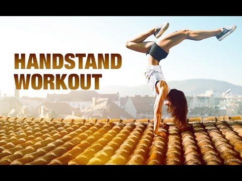 Handstand Workout Routine (FUN UPPER BODY CHALLENGE!!)