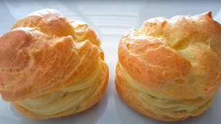 Choux (Eclair) Pastry Recipe / Resep Kue Sus