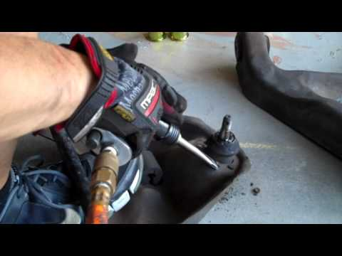 S10 Upper Control Arm Bushing and Ball Joint Removal