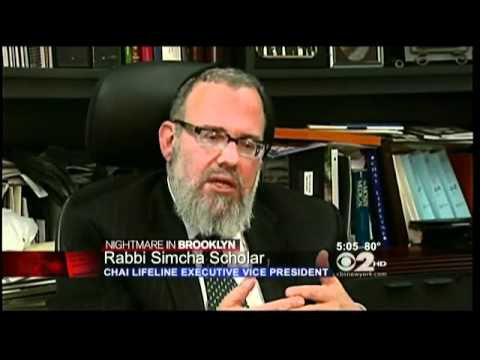 CBS NY: Crisis Counselors at Chai Lifeline Helping NYC Hasidic Community Cope With Kletzky Murder