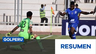 Resumen: Deportivo Binacional vs. Alianza Lima (4-1)