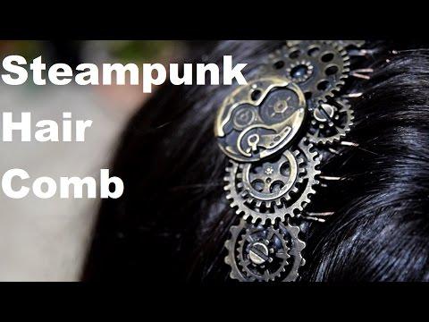 Steampunk DIY Jewelry Hair Piece