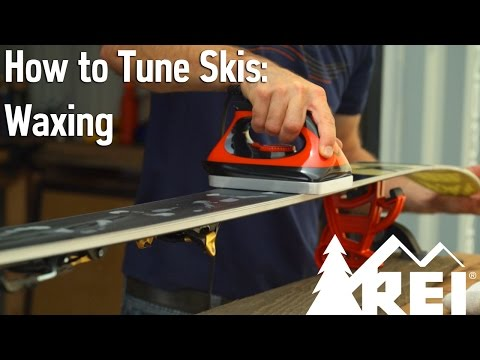 How to Tune Skis #3: Waxing || REI