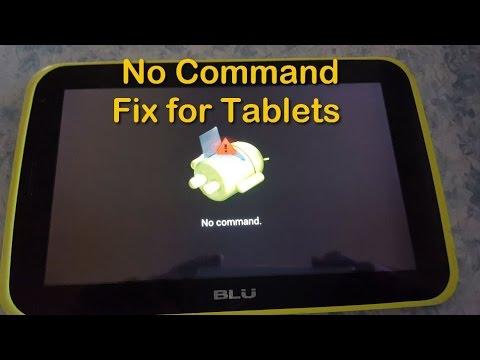 Tablet No command fix