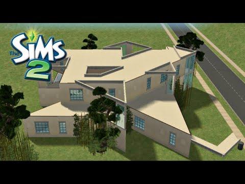 ♢ Geometric House ♢ The Sims 2 ♢