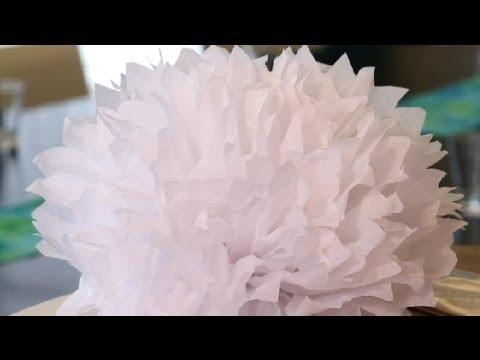 Wedding Tissue Decorations : Great Wedding Ideas