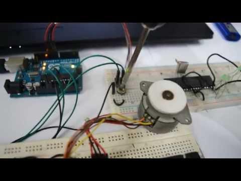 Stepper Motor speed Control using Arduino ADC