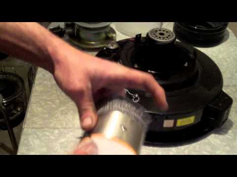 Toyostove Double Clean Kerosene heater, How to Replace the wick.