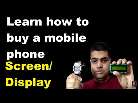 [Hindi/Urdu] Learn how to buy a mobile phone- Screen/ Display