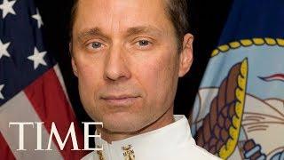 President Trump Presents The Medal Of Honor To Britt Slabinski | TIME