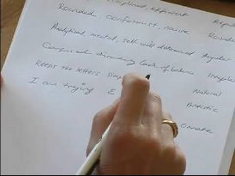 Learn the Basics of Handwriting Analysis : How to Dissect a Disorderly Writing Style