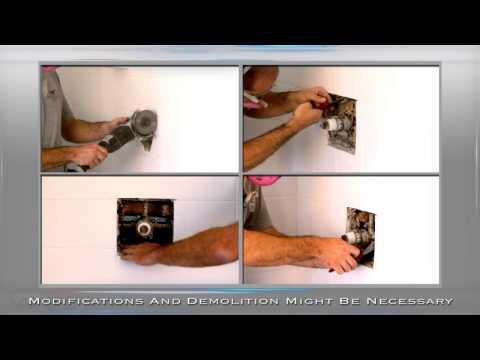 Valore VS-2001 Premium Full Install Shower Panel