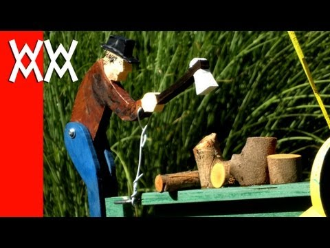 Make an easy wood whirligig