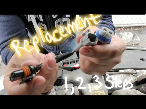Headlight socket connector replacement. Step by step(easy) Toyota Avalon