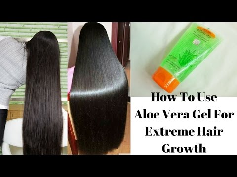 How To Use Aloe Vera Gel For Extreme Hair Growth | Cures Baldness, Hair Fall and Dandruff